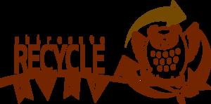 RecycleCampShirosatoLOGOBrownα.png